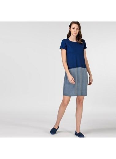 Lacoste Kadın Kısa Kollu Elbise EF0108.08L Lacivert